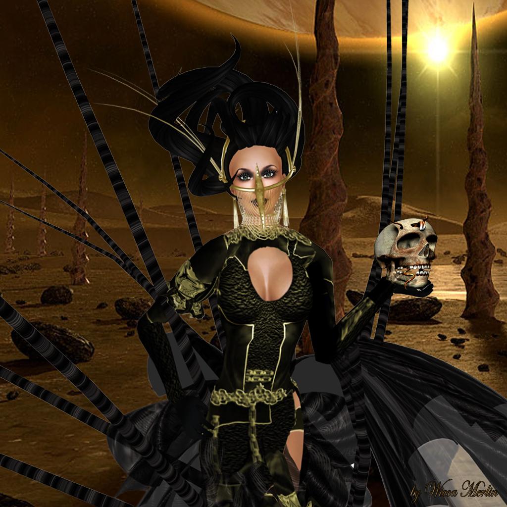 Miss Gems & Kisses - Wicca Merlin - Tentacles 003