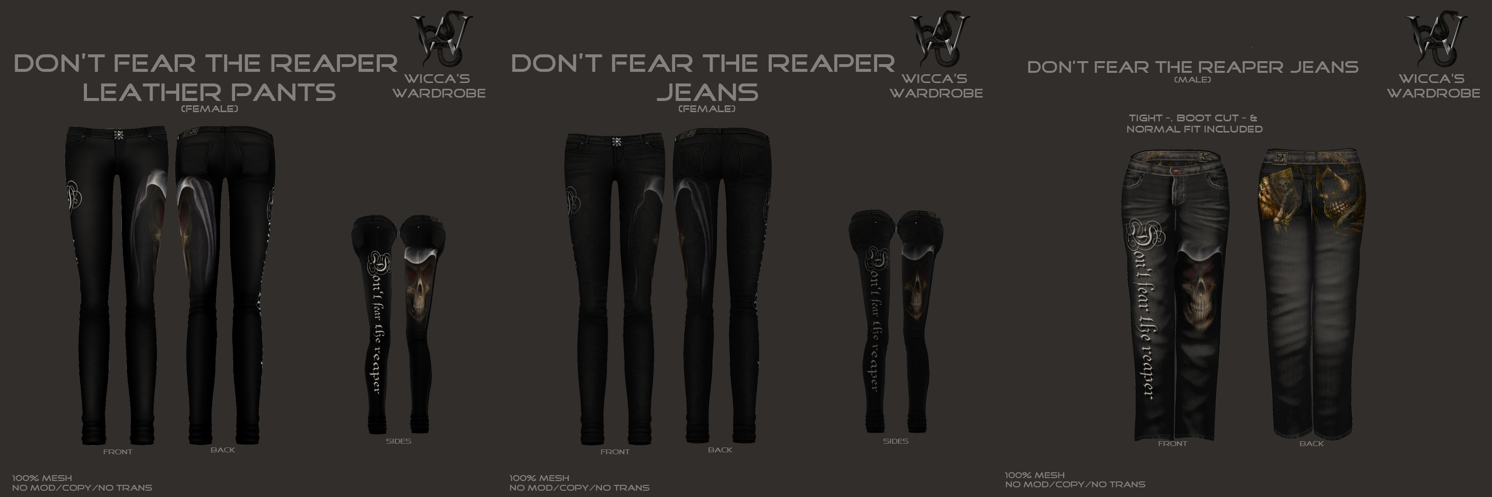 Don't Fear Jeans