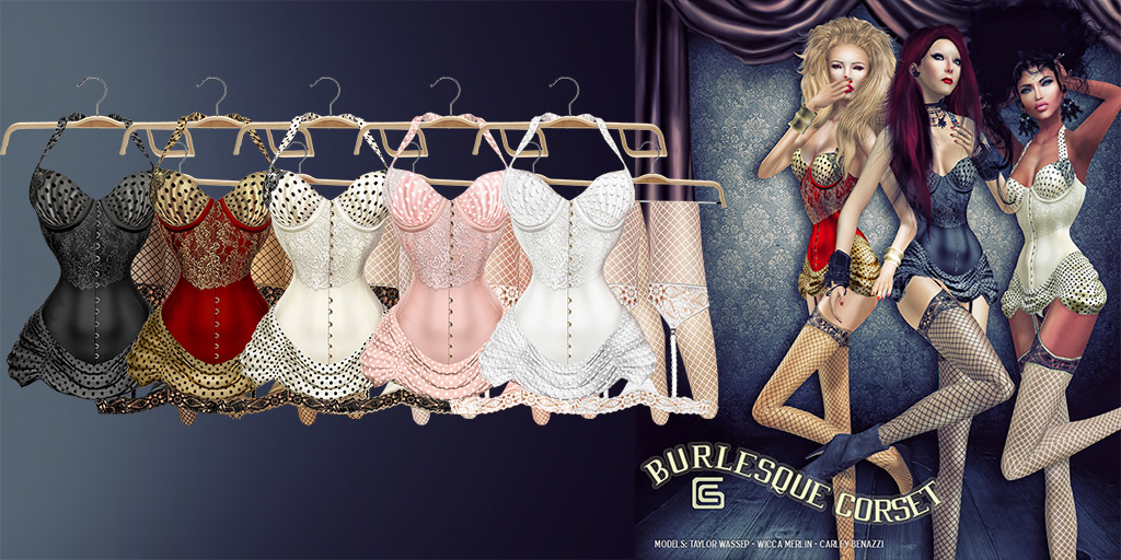 GizzA - Burlesque Corset Colors