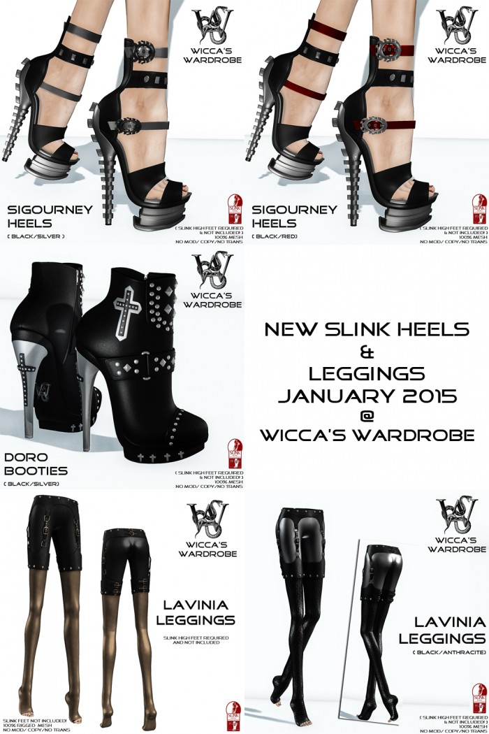 New Slink Stuffs @ Wicca'S Wardrobe January 2015