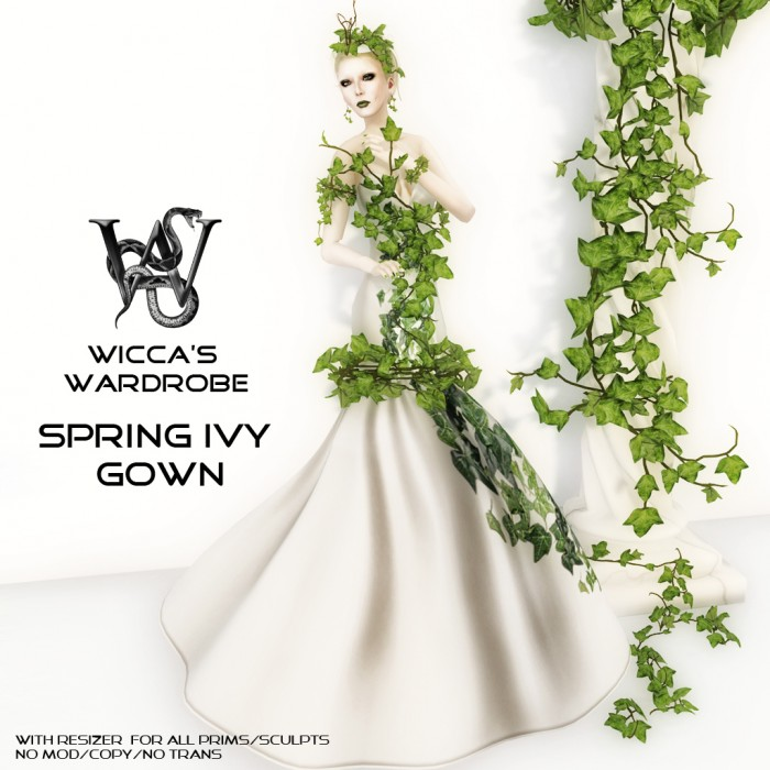 Spring Ivy Gown Vendor with letters