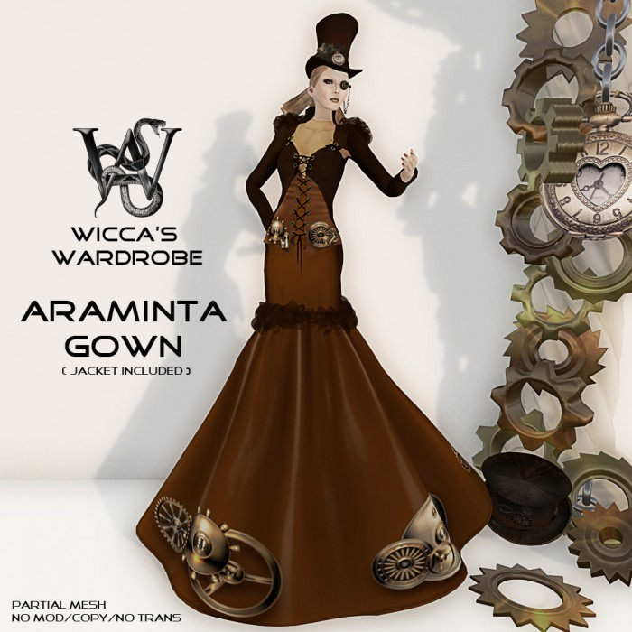 Steampunk Gown Vendor