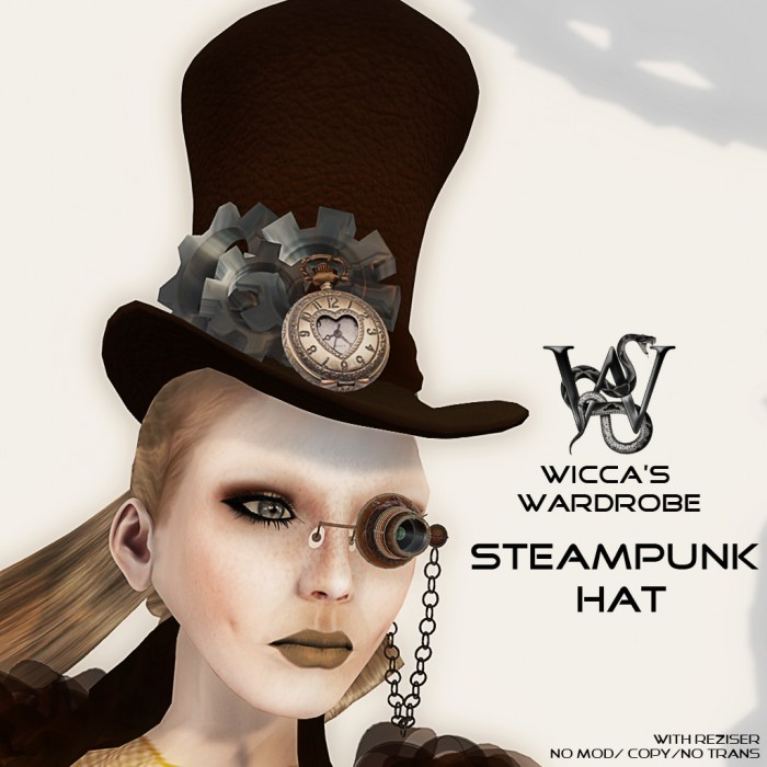 Steampunk Hat Vendor