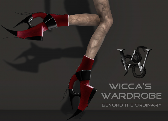Versus Advertise Wicca's Wardrobe
