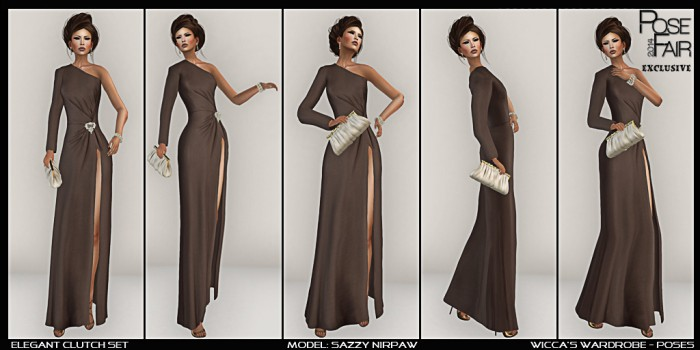 WM - Poses Elegant Clutch Set Posefair 2014 logo