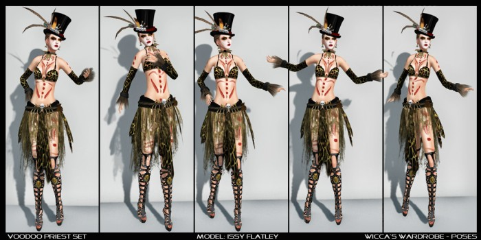 WM - Poses - Voodoo Priest Set
