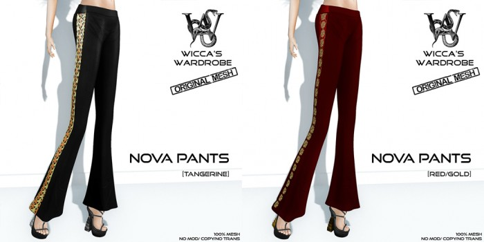Wicca'S Wardrobe - Nova Pants (Specials)