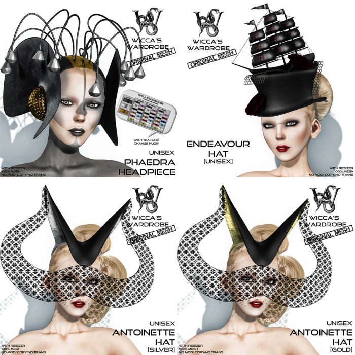Wicca's Wardrobe @ Art in Hats