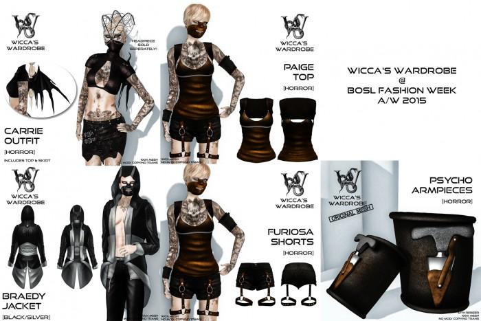 Wicca's Wardrobe @ BOSL FW 2015 I