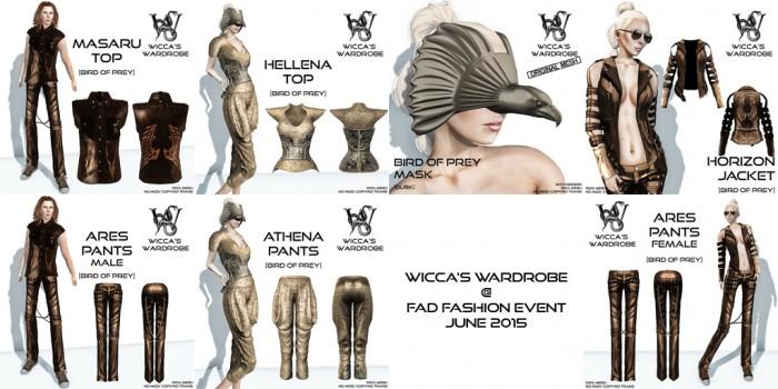 Wicca's Wardrobe @ FAD Fashion Event June 2015