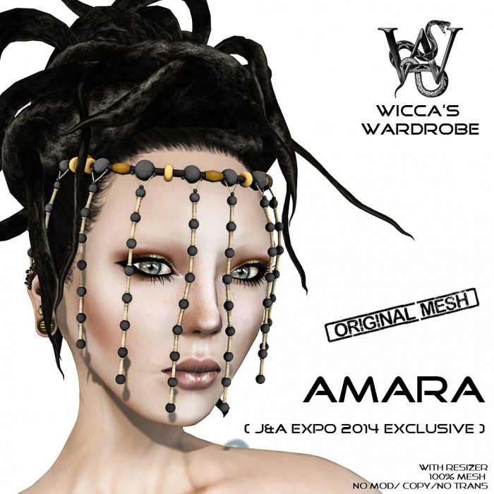 Wicca's Wardrobe - Amara Headpiece for J&A 2014 Vendor2