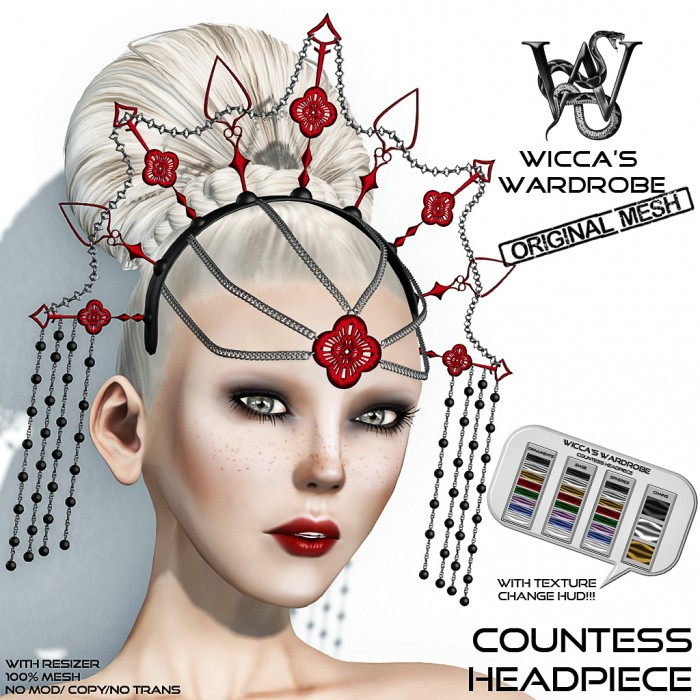 Wicca's Wardrobe - Countess Headpiece Vendor