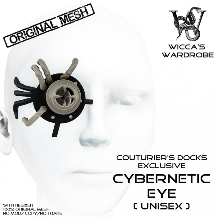 Wicca's Wardrobe - Cybernetic Eye[CD October 2014] Vendor