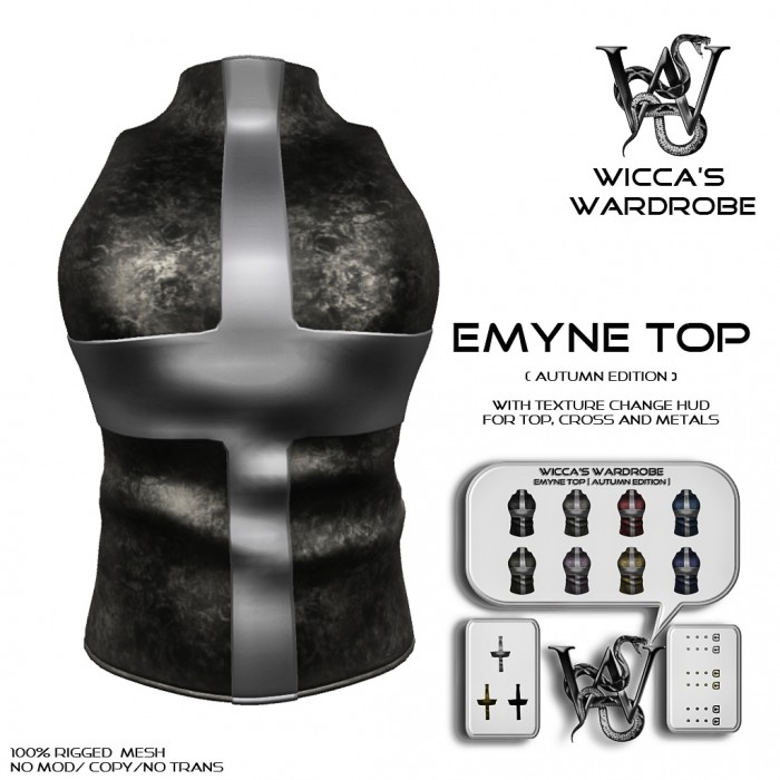 Wicca's Wardrobe - Emyne Top Autumn Edition Vendor