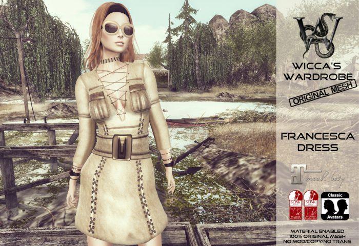 Wicca's Wardrobe - Francesca Dress Teaser (4-3)
