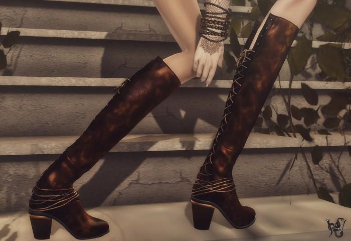 Wicca's Wardrobe - Gypsy Boots Mood