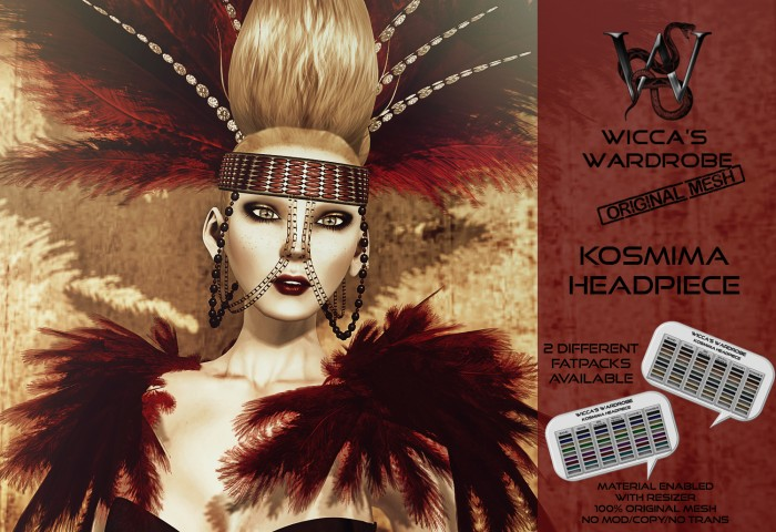 Wicca's Wardrobe - Kosmima Headpiece Teaser full