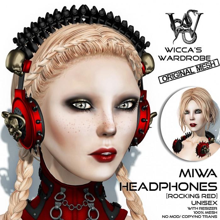 Wicca's Wardrobe - MIWA Headphones (Special) Vendor