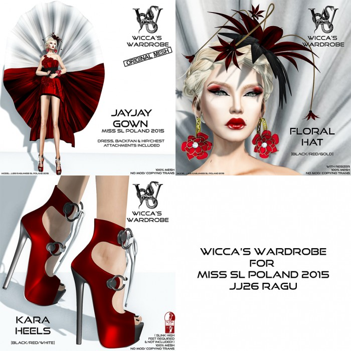 Wicca's Wardrobe - Miss SL Poland 2015 (all)