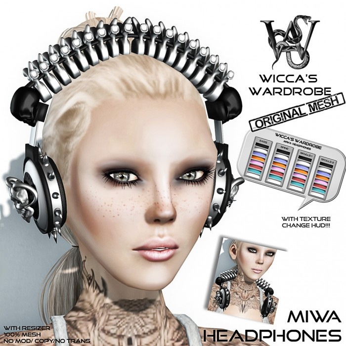 Wicca's Wardrobe - Miwa Headphones Vendor