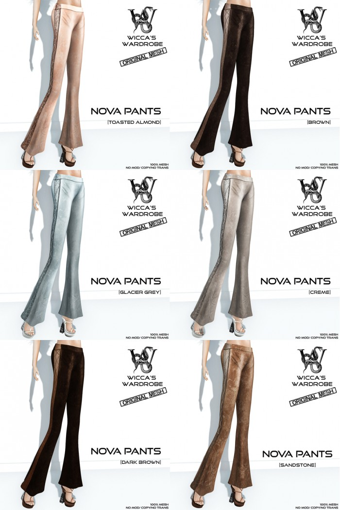 Wicca's Wardrobe - Nova Pants (All)