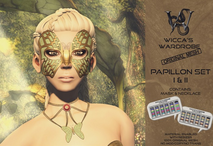 Wicca's Wardrobe - Papillon Teaser (Enchantment) Vendor