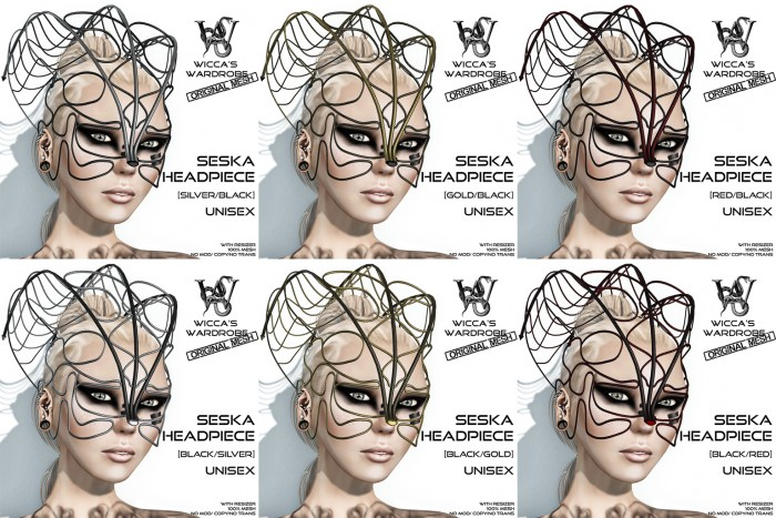 Wicca's Wardrobe - Seska Headpiece (All)