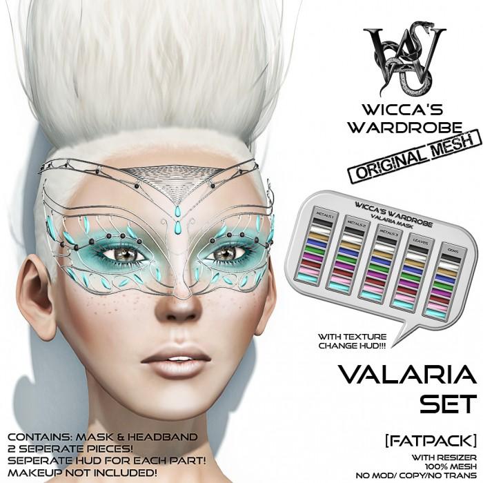 Wicca's Wardrobe - Valaria Set (Fatpack) Vendor