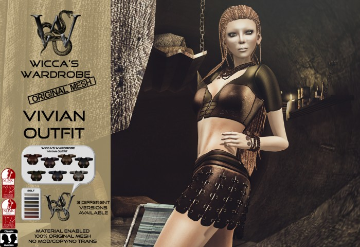 Wicca's Wardrobe - Vivian Outfit Teaser