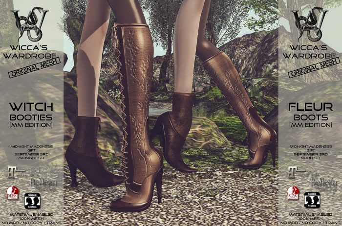 Wicca's Wardrobe - Witch & Fleur MM Teaser Flickr 1