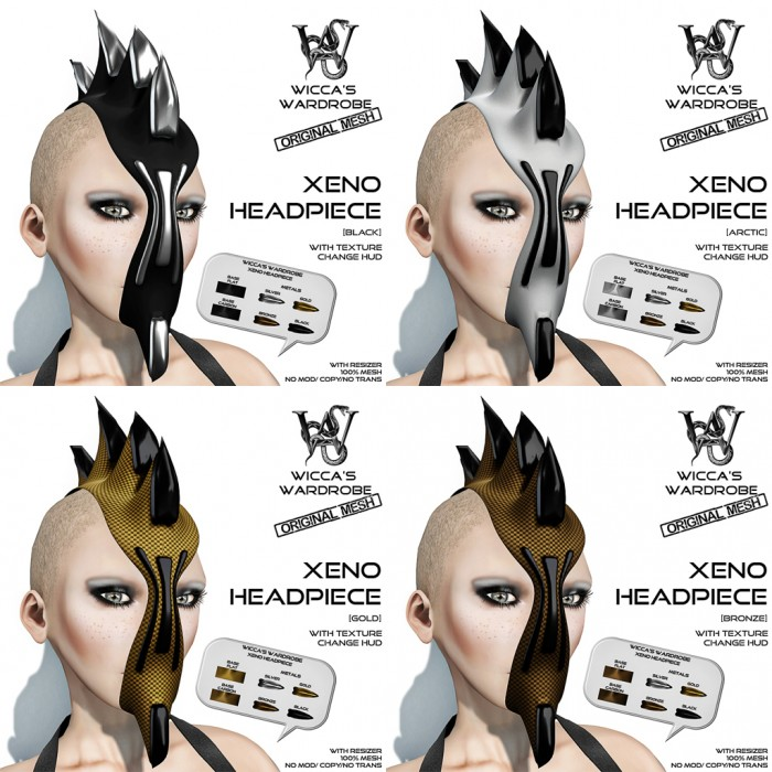 Wicca's Wardrobe - Xeno Headpiece (All)