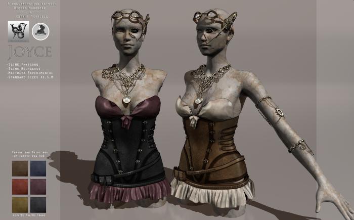 Wicca's Wardrobe&ET - Joyce Set