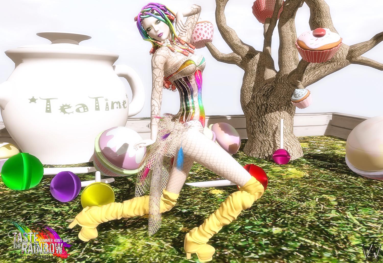 Rainbow Hunt - dm! 001