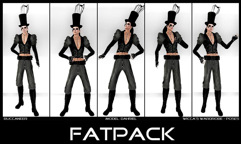 WM - Poses Buccaneer Set - Fatpack