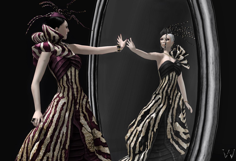 LeeZu - Saphire Gown Mal & Wicca 001
