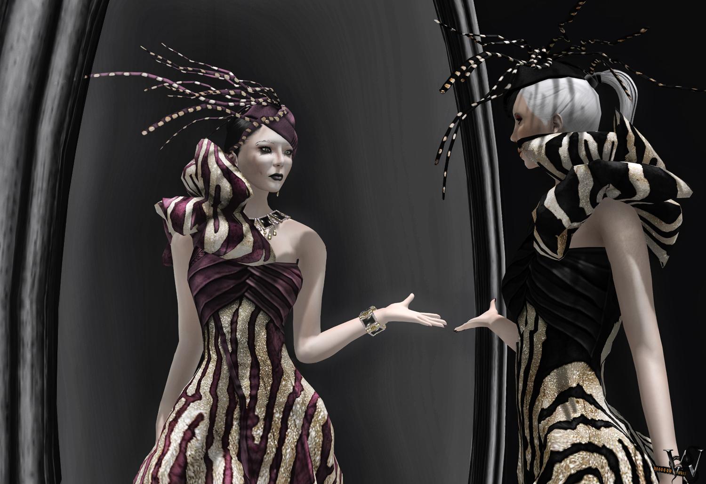 LeeZu - Saphire Gown Mal & Wicca 002