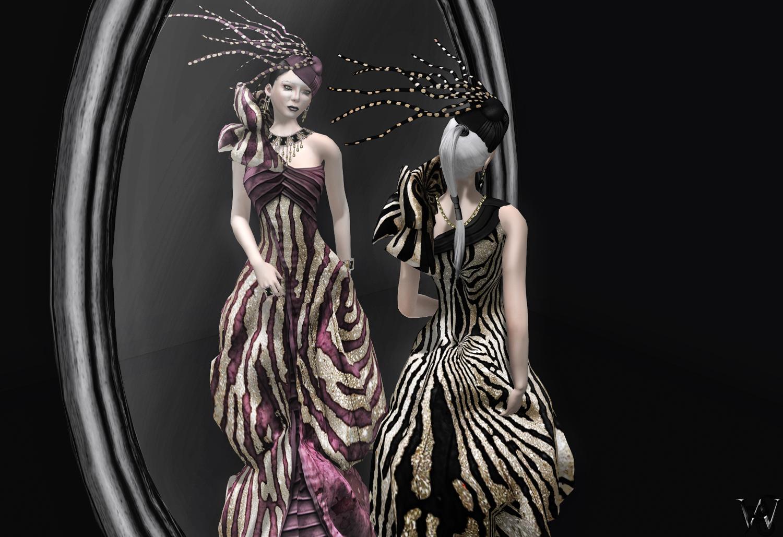 LeeZu - Saphire Gown Mal & Wicca 003