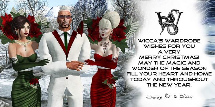 Wicca's Wardrobe - Christmas 2014