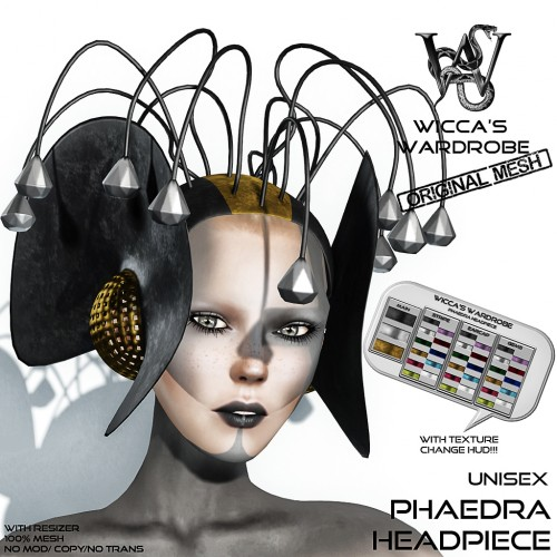 Wicca's Wardrobe - Phaedra Headpiece Vendor
