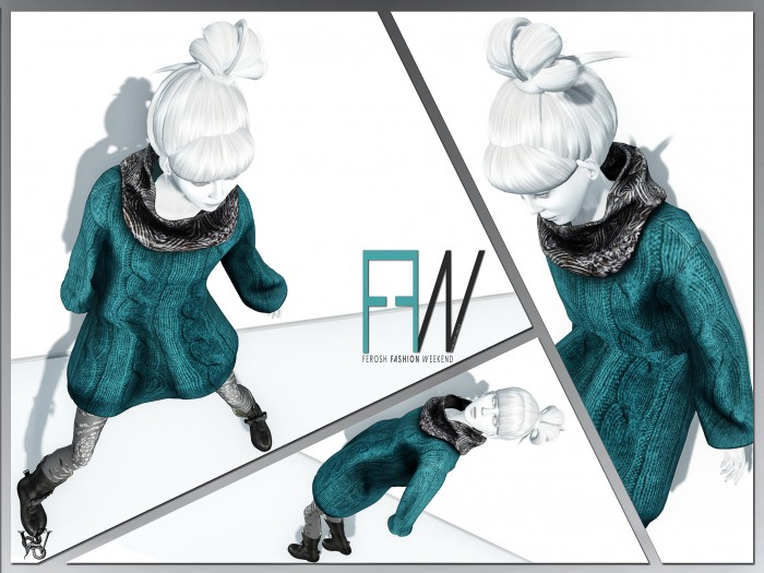 FEROSH FW 2016 - Bomshie - Lengoma Sweatshirt