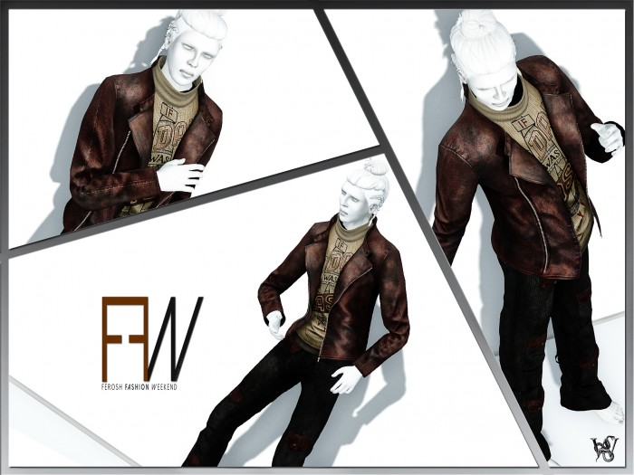 FEROSH FW 2016 - Prism - James Outfit Red