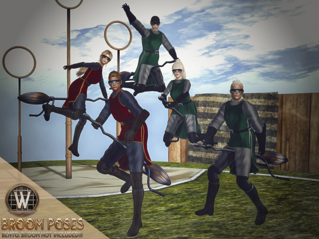 Poses for Photography (Second Life)