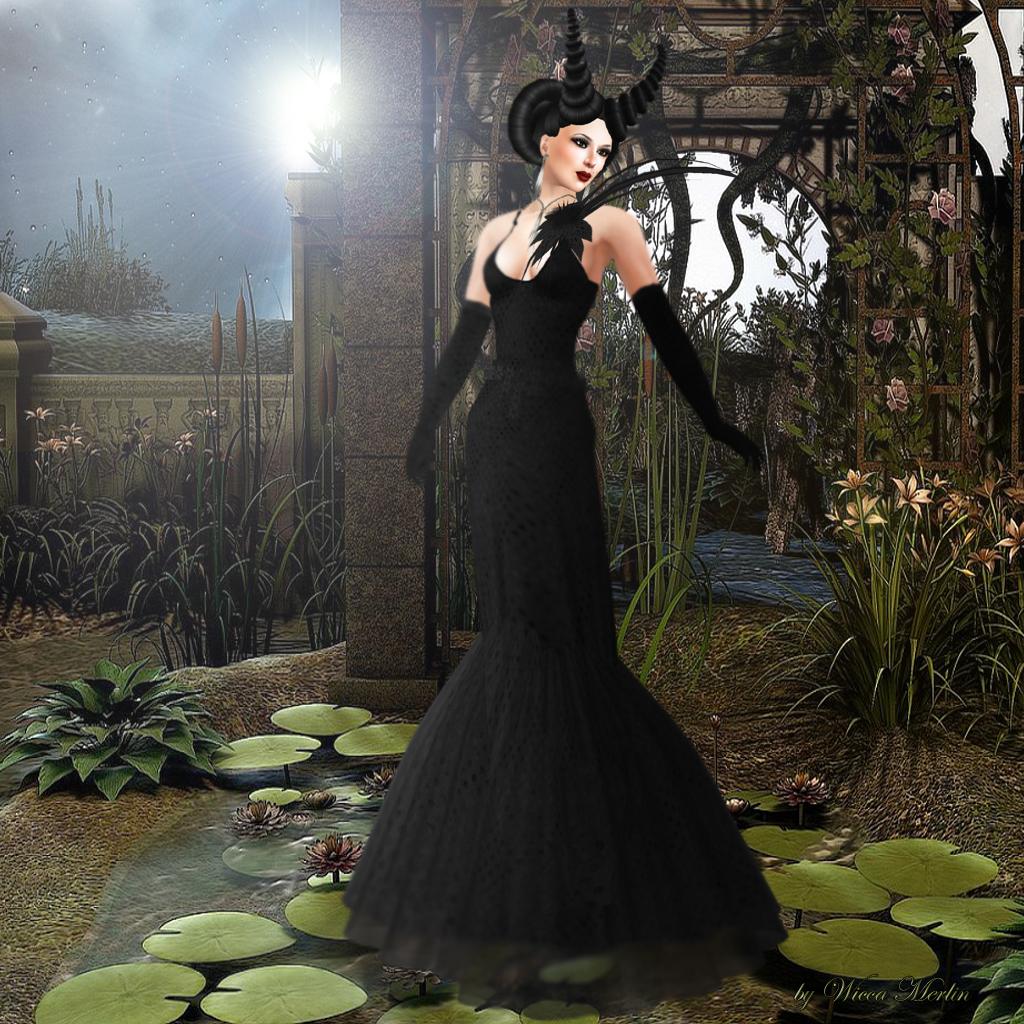 Angel Dessous - Radiancee black 001