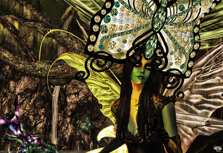 Evil Butterfly Half