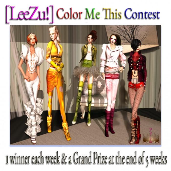 [LeeZu!] Color Me This Contest