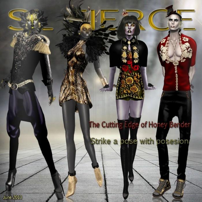 SL Fierce June Cover