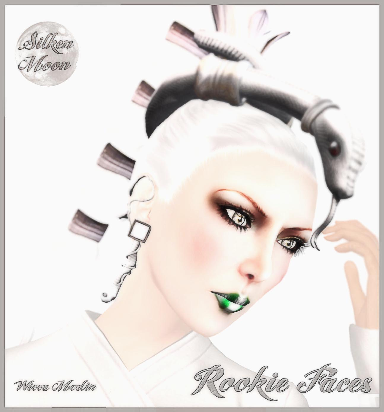 Silken Moon Rookie Faces Wicca