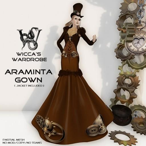 Steampunk Gown Vendor