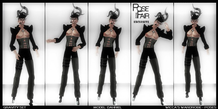 WM - Poses Gravity Set Posefair 2014 logo