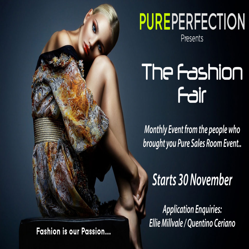 The Fashion Fair Poster
